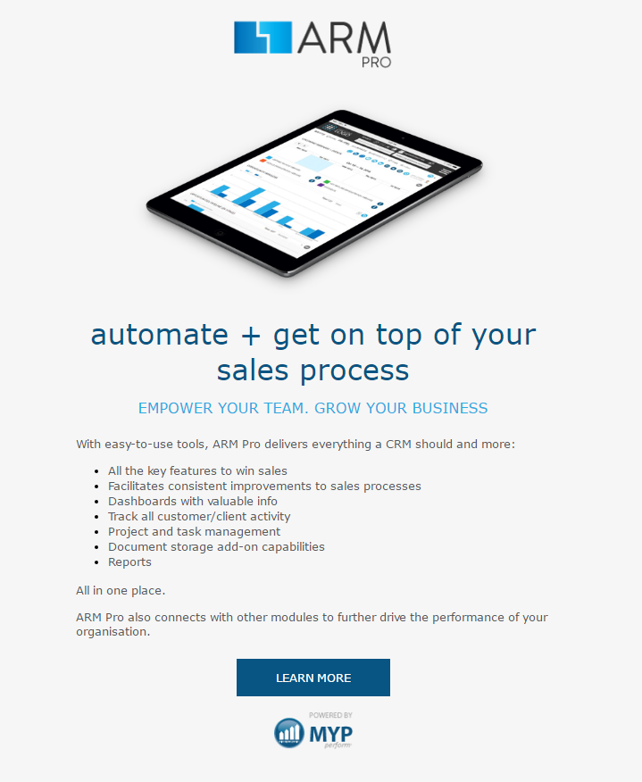 how to send promotional email